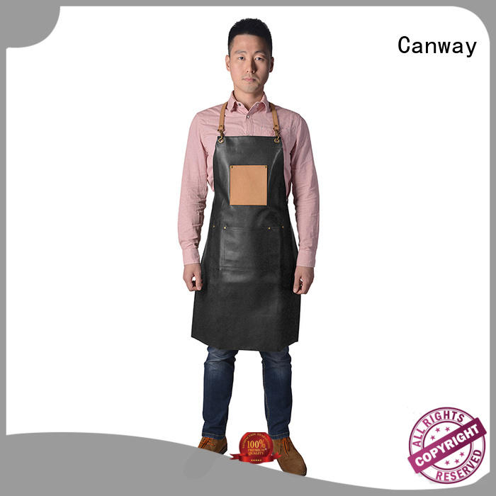 Canway material hairdresser apron for business for beauty salon