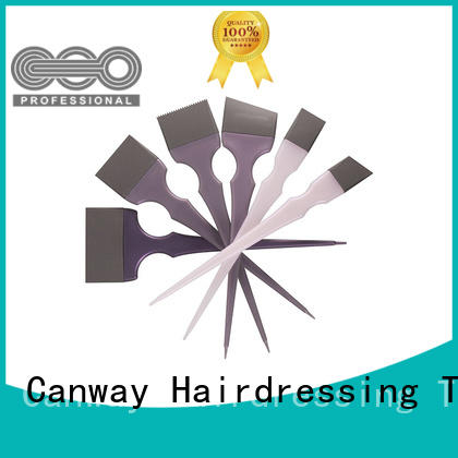 Canway hairdressing tint brushes supplier for barber