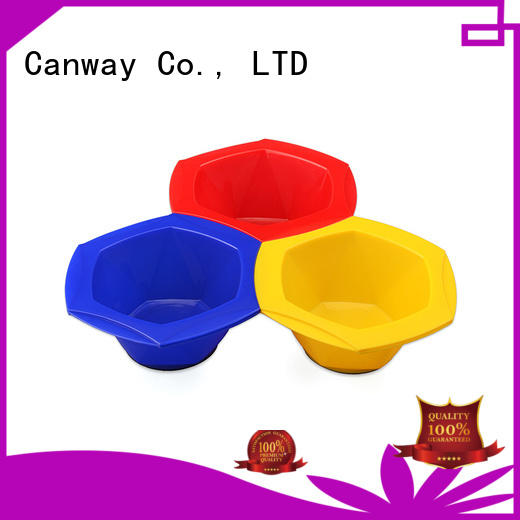 Canway size tinting bowl and brush factory for beauty salon