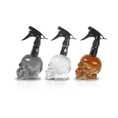 Punk Style Design Spary Bottle 550ml V-skull Spray Bottle With Fine Mist Trigger