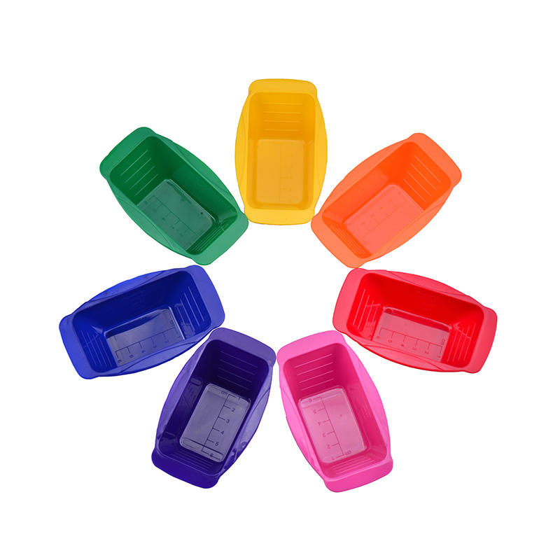 Colorful Connective Mini Tint Bowl Set With Seven Colors Bowl Easy-to-clean Material