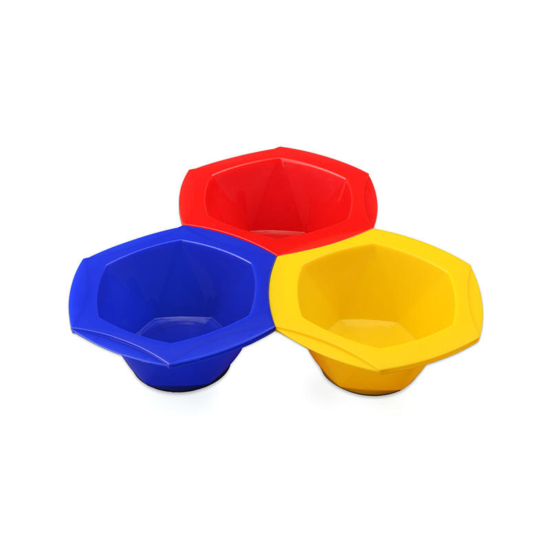 Colorful Connective Rainbow Tint Bowl Set With Seven Colors Bowl Easy-to-clean Material