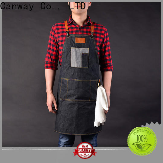 Canway barber hairdresser apron suppliers for hair salon
