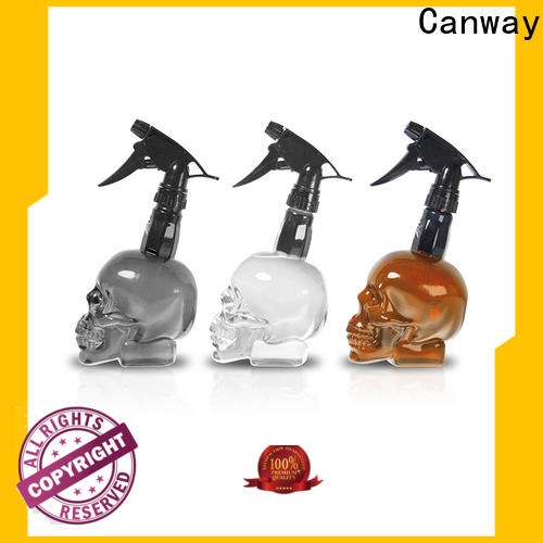 Canway luxury hair spray bottle supply for hair salon