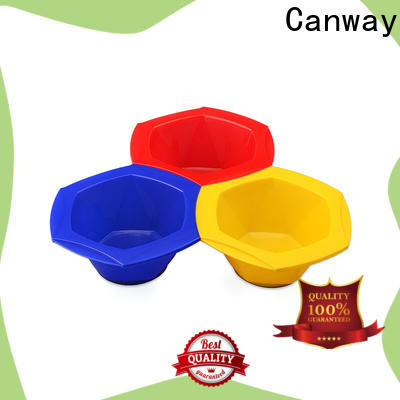 Canway bowl hairdressing tint brushes suppliers for beauty salon
