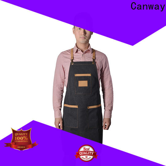 Canway design barber apron manufacturers for hair salon