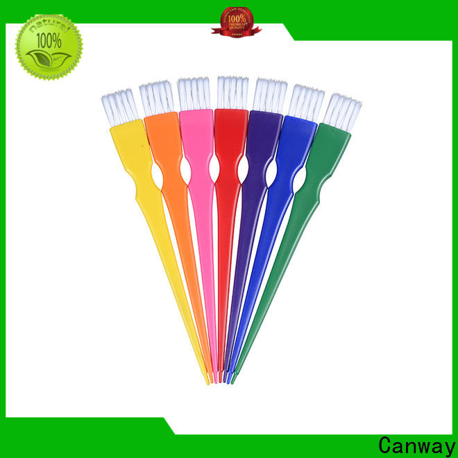 Canway material hairdressing tint brushes suppliers for barber