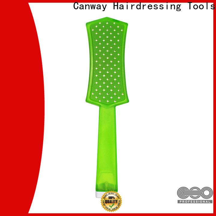 Canway tangle barber hair brush supply for hairdresser