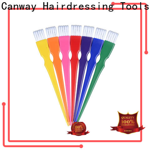 Canway three hairdressing tint brushes suppliers for hair salon