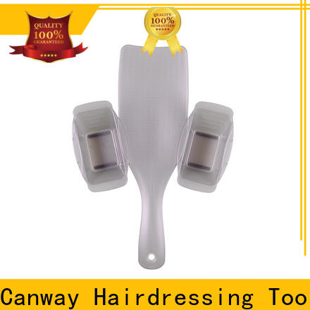Canway rainbow hairdressing tint brushes factory for hair salon