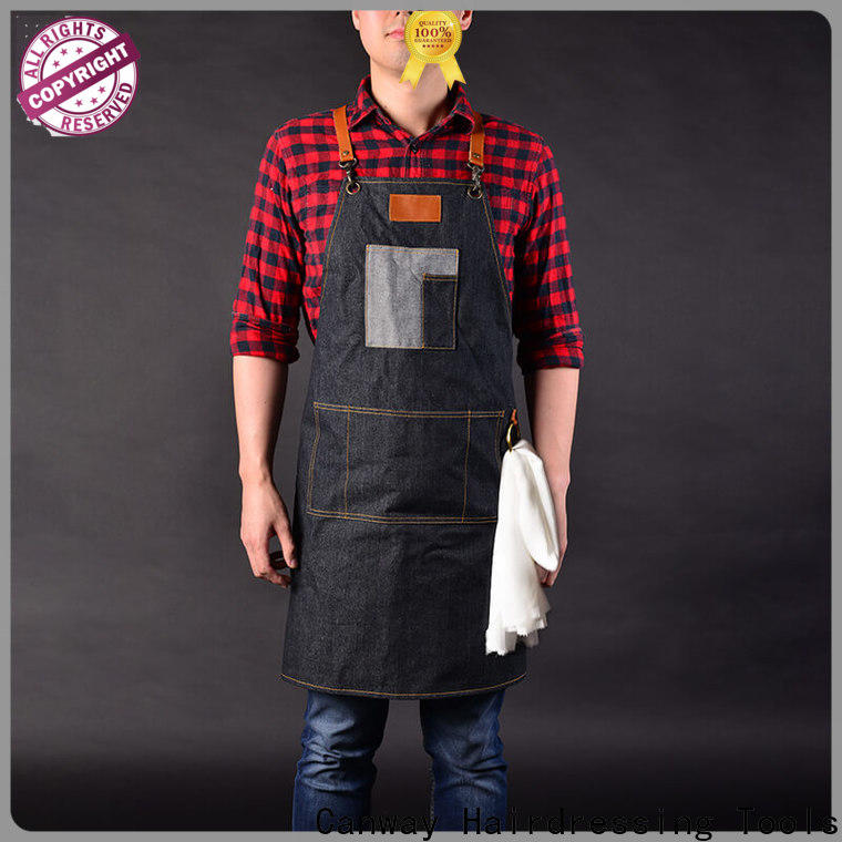 Canway wearproof hair apron manufacturers for barber