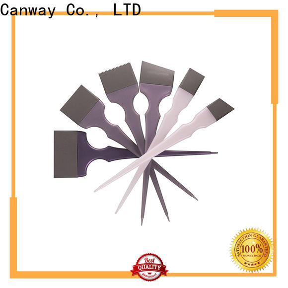 Canway two hairdressing tint brushes suppliers for barber