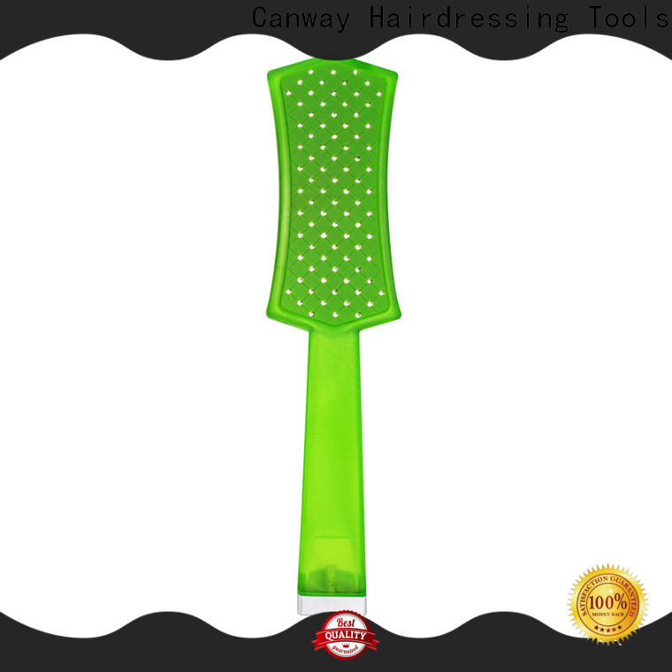 Canway soft hair detangle brush factory for hair salon