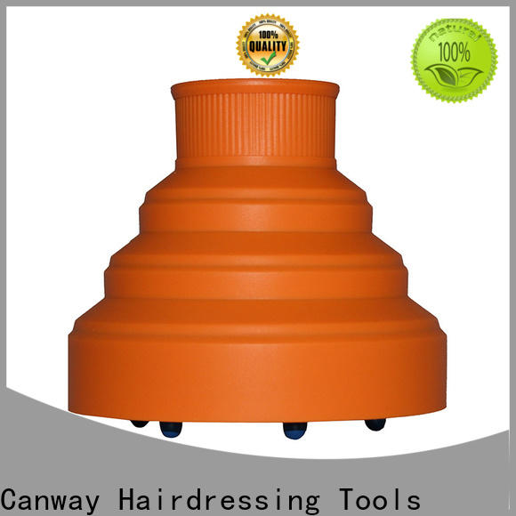 Canway High-quality hair dryer diffuser attachment suppliers for beauty salon