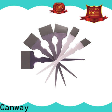 Canway colorful tinting paddle supply for hairdresser