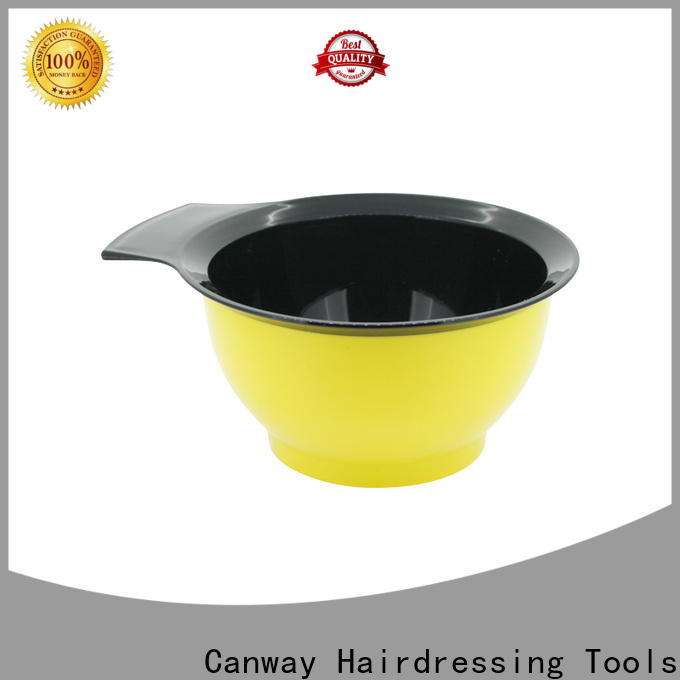 High-quality hairdressing tint brushes bowl manufacturers for barber