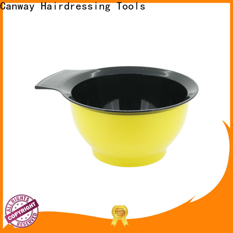 Canway mini tinting bowl and brush for business for hairdresser