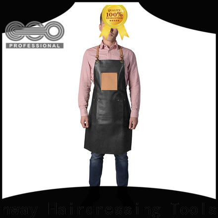 Canway denim hairdresser apron suppliers for beauty salon