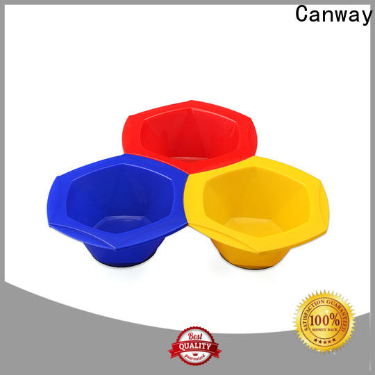 Canway colorful tint bowl manufacturers for hair salon