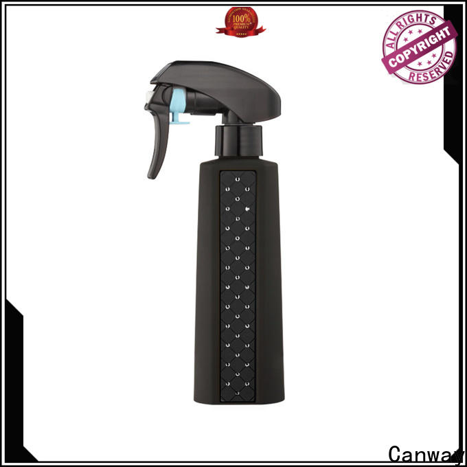 Canway glossy hair spray bottle manufacturers for hair salon