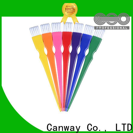 Canway small hairdressing tint brushes suppliers for barber