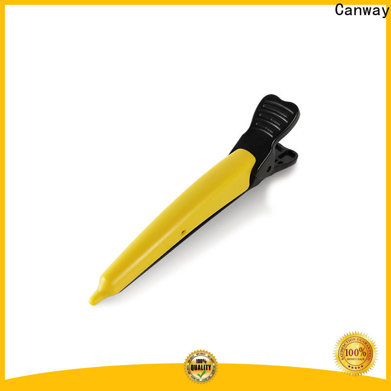 Canway roki hairdressing sectioning clips suppliers for hair salon