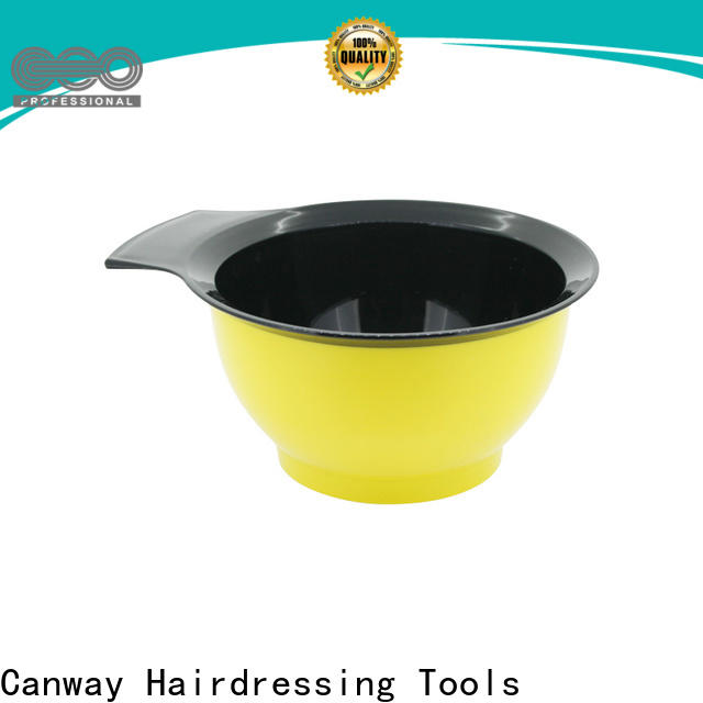 Canway tinting tinting bowl and brush supply for hairdresser