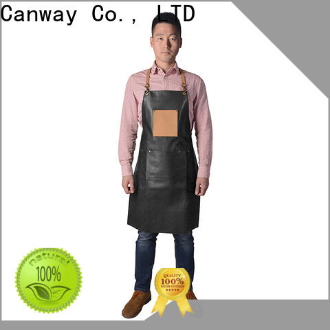 Canway material hairdresser apron manufacturers for beauty salon
