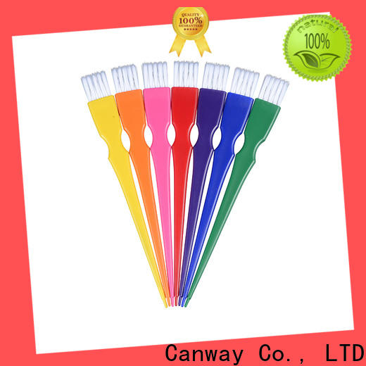 Canway color tint hair brush factory for beauty salon