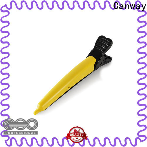 Canway Latest hair sectioning clips manufacturers for beauty salon