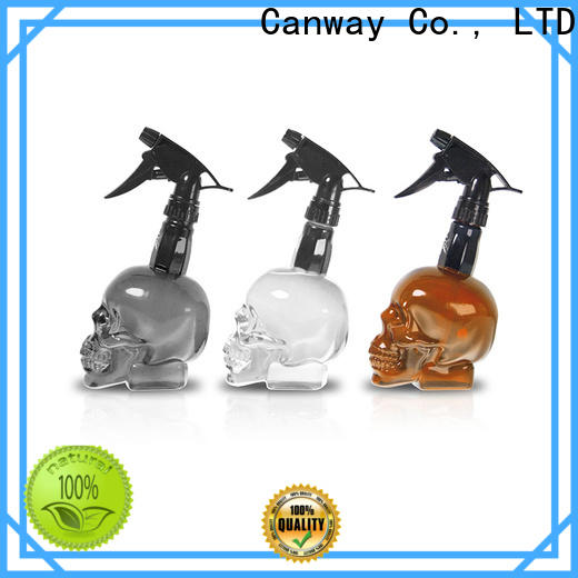 Canway glossy hair spray bottle suppliers for hair salon