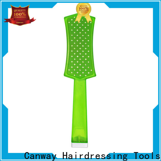 Canway shinning barber comb suppliers for hair salon