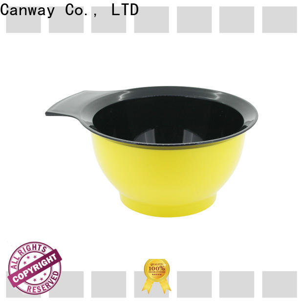 Canway color tinting bowl and brush factory for barber