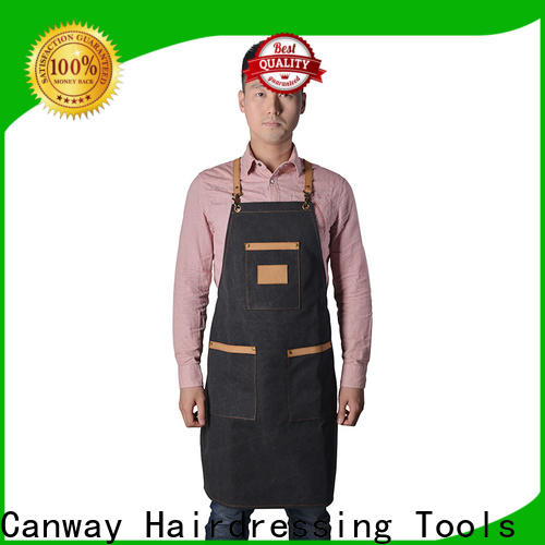 Custom barber cape fiber supply for beauty salon