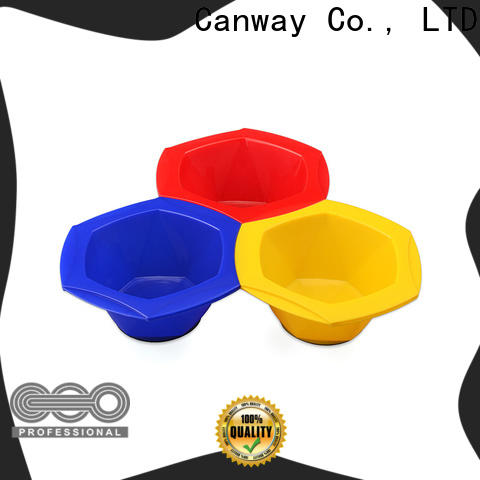 Canway paddle hairdressing tint brushes suppliers for beauty salon