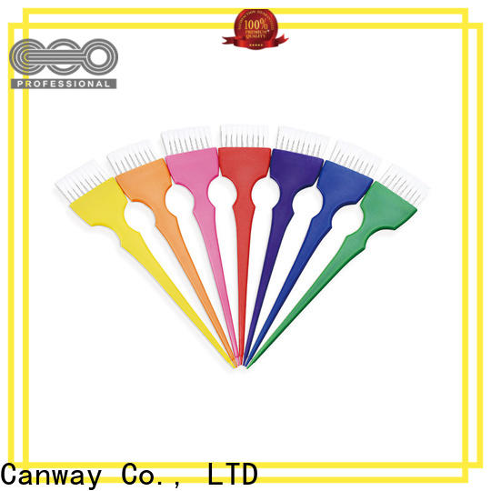 Canway Best hairdressing tint brushes factory for hair salon