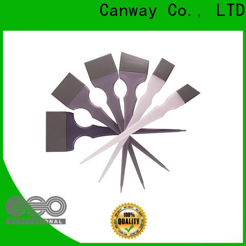Canway silicone hairdressing tint brushes suppliers for barber