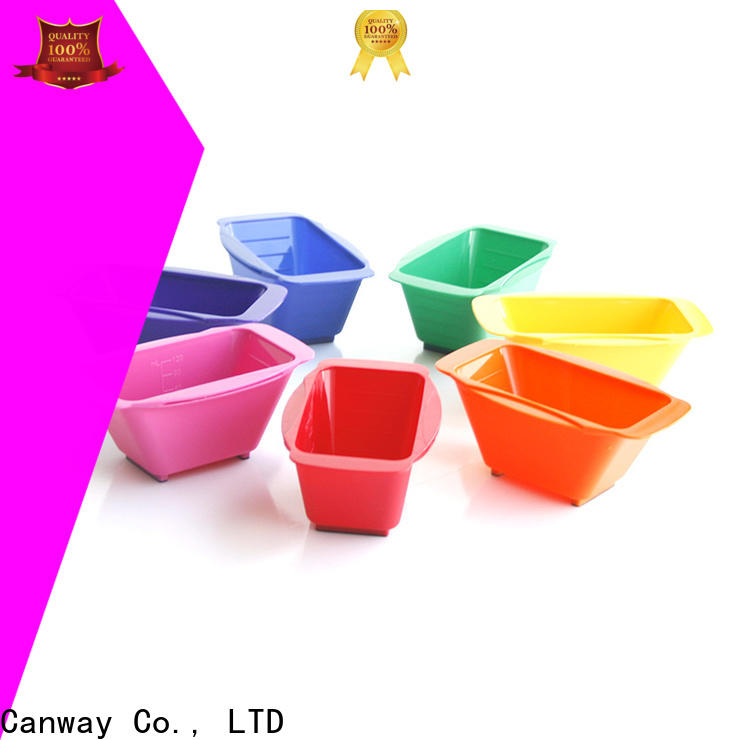 Canway easytoclean tinting bowl and brush supply for beauty salon