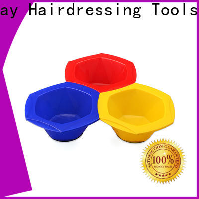 Top tinting bowl and brush connective factory for hairdresser