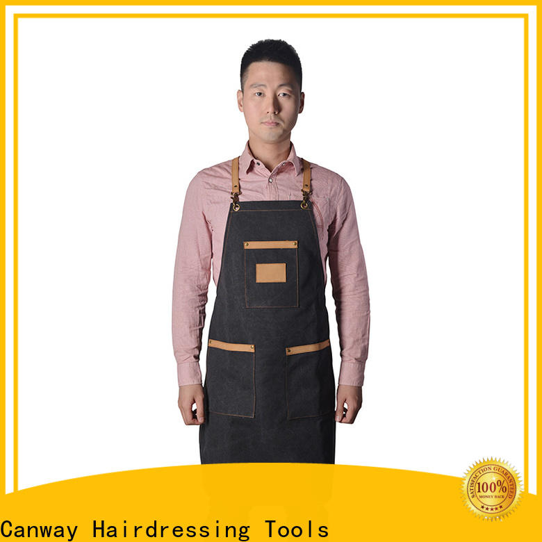 Canway wearproof hairdressing cape supply for beauty salon
