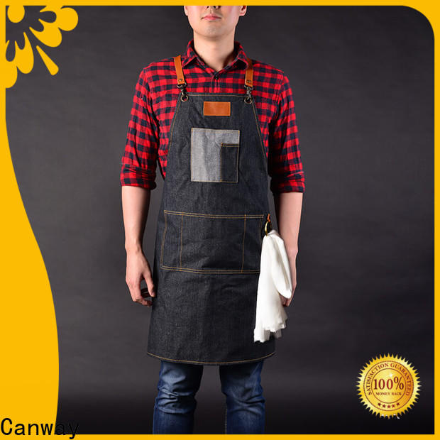 Custom barber apron canvas supply for barber