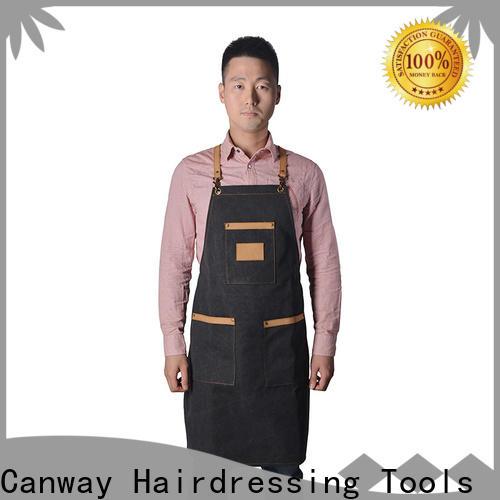 Custom barber cape material for business for hair salon