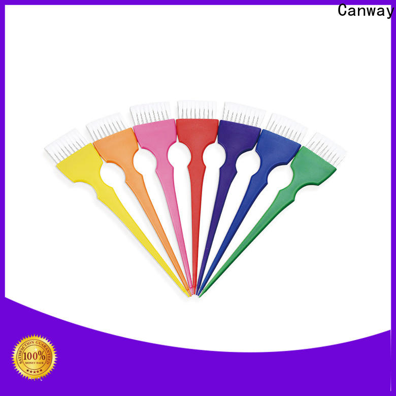 Canway three tint hair brush suppliers for barber