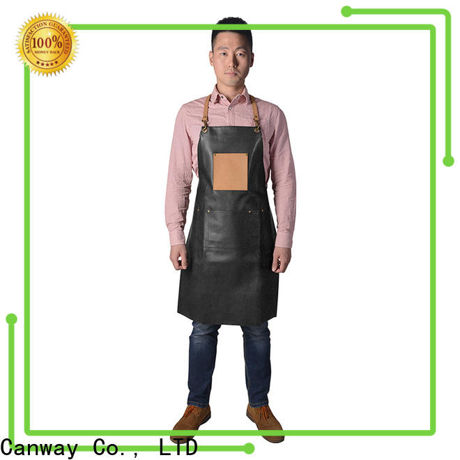 Canway Latest barber apron supply for hairdresser