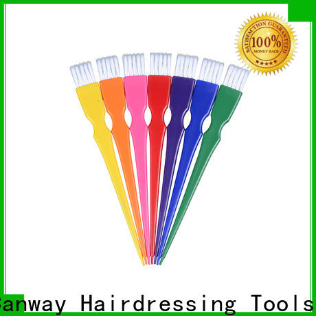 Latest hairdressing tint brushes paddle supply for beauty salon