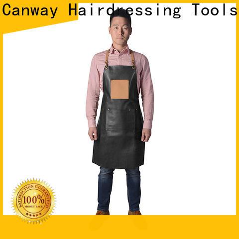 Top barber apron denim manufacturers for hairdresser