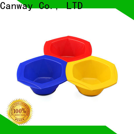 Canway silicone tint hair brush company for hairdresser