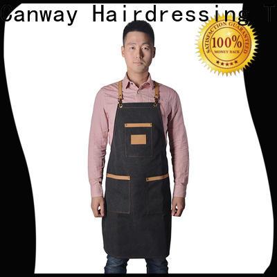 Custom hair apron design company for barber