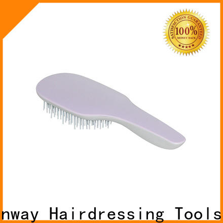 Canway wet hair brush and comb supply for hair salon