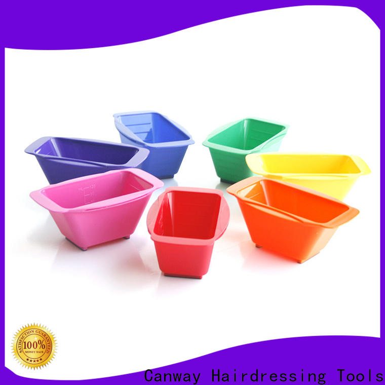 Canway Wholesale tinting bowl and brush factory for barber